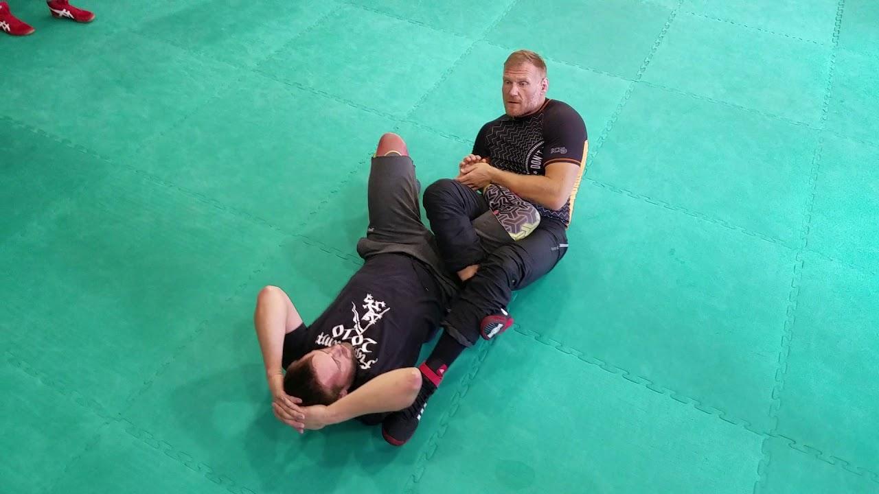 Catch Wrestling Leglock coaching with Josh Barnett | BJJ Tips