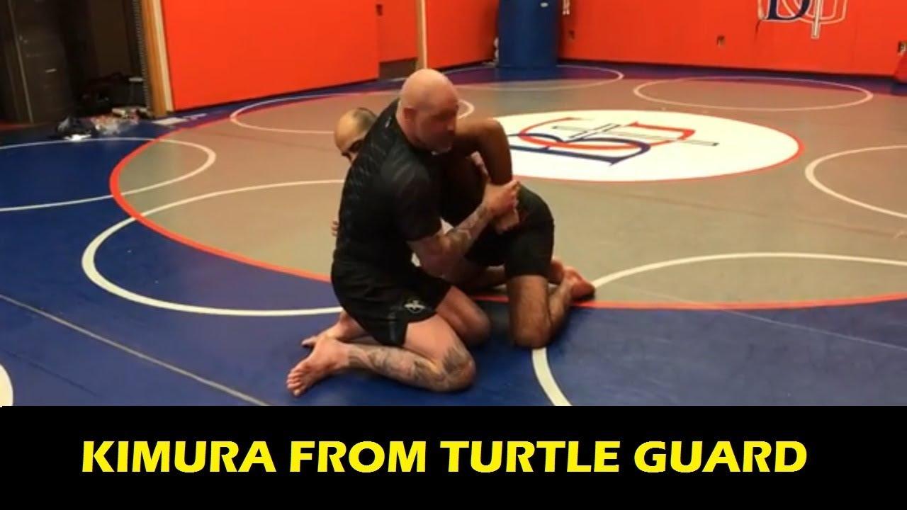 Neil Melanson Kimura From Turtle Guard Bjj Tips