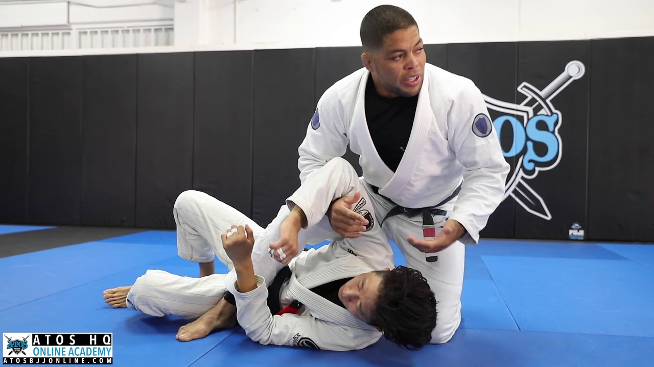 Andre Galvao Kimura Attack From Side Control With The